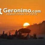 sun sets in Rosemary Beach