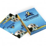 Playing cards with Geronimo logo