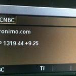 Sirius XM radio ad on CNBC
