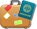 suitcase with passport icon